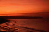 Sandsend Sunset in Yorkshire