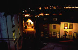 Whitby Old Town at Night