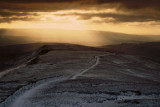 Sunrays over Whernside, Yorkshire