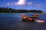 Fishing Boats at Muri Beach