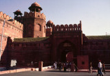 Lahore Gate to Red Fort, Delhi