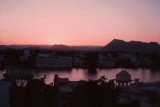 Twilight over Lake Piccola, Udaipur