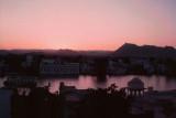 Twilight over Lake Piccola, Udaipur