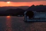 Sunset over Lake Picchola, Udaipur