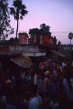 Street celebrations in Gorakphur