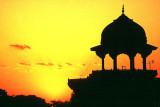 A Mogul Tower at Agra