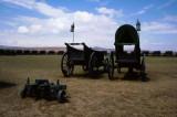 Wagons at Bloedrivier, Kwazulu Natal
