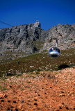 Cable Car up Table Mountain, Cape Town