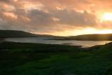 Sundown near Clifden