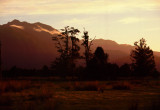 Southern Alps Sundown