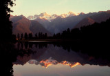 Lake Matheson sundown