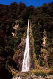Waterfall on Haast River