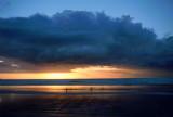 Ninety Mile Beach at sundown