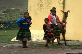 Quechuan People on the Altiplano