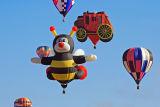 The 2006 Annual Albuqurque Ballon Festival