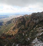 Overlooking the Sandia Mts toward Albuqureque