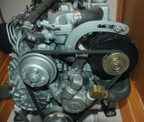 Engine W / 90 Amp Alternator