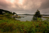 Storm Clouds Over Burnt Coat Harbor