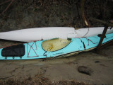 Two Of My Kayaks After The Nor' Easter