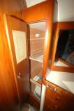 Cedar Lined Locker In The V-Berth