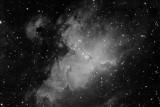 Eagle Nebula (Messier Object 16) in Serpens
