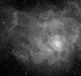 M8 Lagoon Nebula in Sagittarius