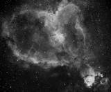IC 1805 Heart Nebula and IC 1795 in Cassiopeia
