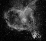 IC 1805 Heart Nebula in Cassiopeia