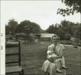Hester Bennett Coon (1905-1994) and grandchild