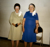 Jewel McCulloch and Dora Laws