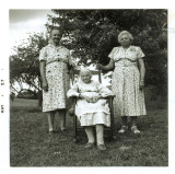 Julia Ann Warden Coon, Effie Coon and Dora Coon Laws