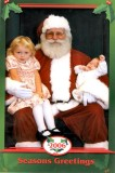 Scarlett, Santa and Ava