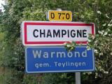 Stichting Jumelage Warmond - Champigné