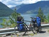 124  Thomas - Touring through Montana - Cannondale T2000 touring bike