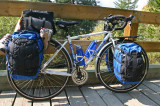 158  Nancy - Touring Alberta Canada - Co-Motion Nor'Wester touring bike