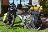 164  Nancy - Touring through Mexico - Trek 970 touring bike
