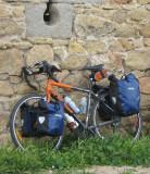 188  Chris - Touring Spain - Devinci Cariboo touring bike