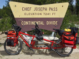 193  Lisa & Anna - Touring through Montana - Co-Motion Periscope touring bike
