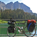 202  Craig - Touring Wyoming - Trek 520 touring bike