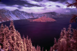 Crater Lake Infrared