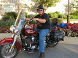 Dave on the Heritage Softail