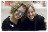 New Friends from Spain atthe PJ Harvey Concert