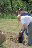 Digging in the Mortar Tubes