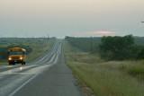 school bus on US 380