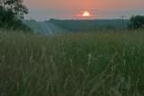 sunrise on US 380