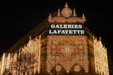 Galeries Lafayette christmas lights