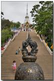 Wat Khao Takiab - a short climb