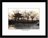 Pavillion at Solidly Frozen Kunming Lake