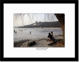 Frozen Kunming Lake