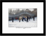 Playing Soccer on Frozen River